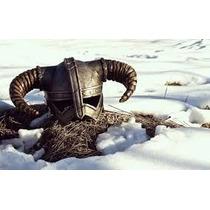 Casco Dovahkiin Vikingo Conan