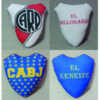 Escudo Futbol Almohadon Apego Personalizado