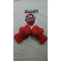 Puños + Mascara Hulk, Spiderman Y Otros!