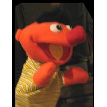 Ernie, Enrique, Beto Muñecos Plaza Sesamo, Muppets, Elmo, Fx