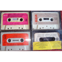 Lote 4 Cassettes De Brasil Sin Tapa - Intérpretes Varios