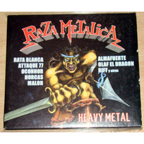Raza Metalica Rata Blanca Attaque 77 Malon Almafuerte Cd Arg