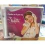 Cd Y Dvd Violetta Cantar Es Lo Que Soy