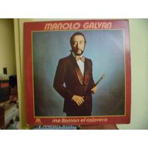 Disco De Manolo Galvan