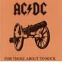 Ac/dc. For Those About To Rock. Cd Caja Acrílica
