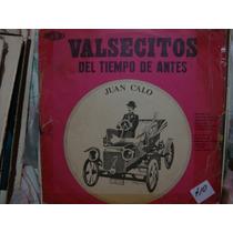 Vinilo Juan Calo Valsecitos Del Tiempo De Ant