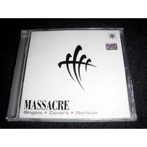 Massacre - Singles, Covers Y Rarities Cd Nuevo Sellado