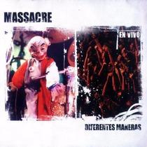 Massacre Diferentes Mareas Vivo Cd Oferta Catupecu Machu