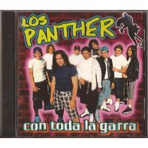 Los Panther Cd Con Toda La Garra Cd Original 1998 Cd Nuevo