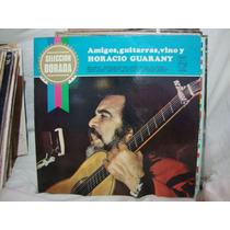 Manoenpez Vinilo Horacio Guarany Amigos Guitarra Vino
