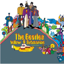 The Beatles Yellow Submarine Lp Vinilo180grs.import.en Stock