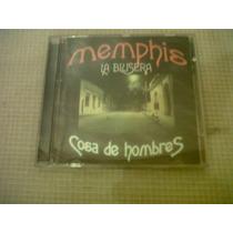 Cd - Memphis La Blusera - Cosa De Hombres