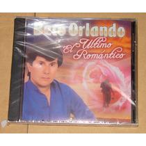 Beto Orlando El Ultimo Romantico Cd Nuevo Sellado