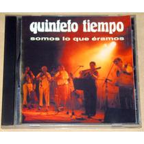 Quinteto Tiempo Somos Lo Que Eramos Cd Argentino