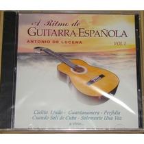 A Ritmo De Guitarra Española Antonio Lucena Cd Nuevo Sellado