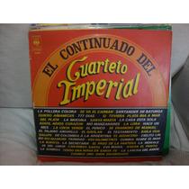 Vinilo Cuarteto Imperial El Continuado 1