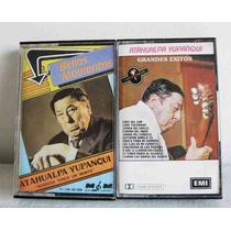 Atahualpa Yupanqui Grandes Exitos 2 Cassettes Originales