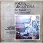 Alfredo Alcón / Inda Ledesma / Luis M.castro - 2 Lp Poesia