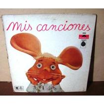 Disco De Vinilo El Topo Gigio Mis Canciones