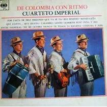 De Colombia Con Ritmo Cuarteto Imperial L. P.