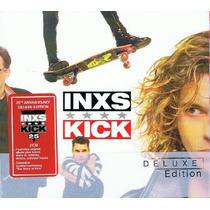 Inxs Kick Deluxe Edition 2cd Imp.cerrado Nuevo En Stock