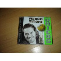 Franco Simone Unicos Serie De Coleccion Cd Argentina Raro