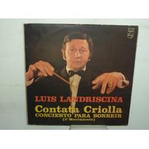 Luis Landriscina Contata Criolla Vinilo Argentino