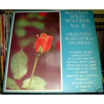 Orquesta Romantica Tropical Boleros Vol 2 Vinilo Argentino