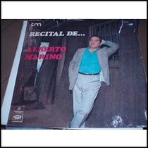 Vinilo 0014 - Recital De Alberto Marino