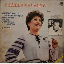 Vinilo - Ramona Galarza Canta A Alberico Mansilla -