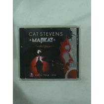 Cd Cat Stevens Majikat Año 2005 The Wind Moonshadow King Of