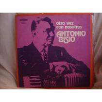 Manoenpez Vinilo Antonio Bisio Otra Vez Con Nosotros