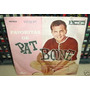 Pat Boone Favoritas Pon Mi Anillo Simple C/tapa Argentino
