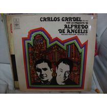 Vinilo Carlos Gardel Alfredo De Angelis
