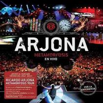 Ricardo Arjona Metamorfosis En Vivo (2 Cd + Dvd)