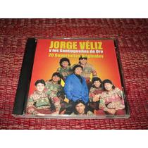Cd Original Jorge Veliz Y Los Santiagueños De Oro