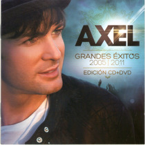 Axel Grandes Exitos 2005-2011 100% Original (cd+dvd)