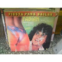 Fabian Fiesta Para Bailar Lp Vinilo Cumbia 1985