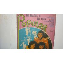 Lp Vinilo Popular - The Beatles Vs Bee Gees