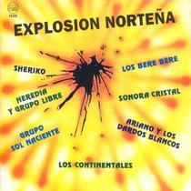 Cd Explosion Norteña Bajado De Lp