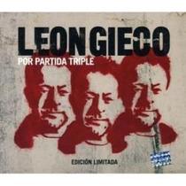 Leon Gieco Por Partida Triple (3 Cd) Rock-rutas-folckore