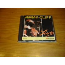 Jimmy Cliff Live Cd Argentina Musimundo Rare Cd Reggae