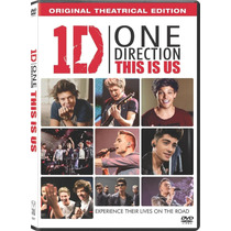 One Direction Asi Somos La Pelicula ( Dvd )