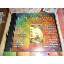 2001 Latin Grammy Nominees (compilados) -cd-