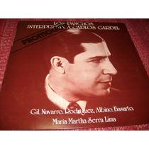 Disco De Los Panchos Interpretan A Carlos Gardel