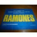 Ramones Entrada Original London T&c 1989