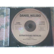 Daniel Melero - Estrategias Fatales (cd Single Excelente)