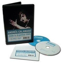 Andres Calamaro Made In Argentina Cd+dvd Los Rodriguez