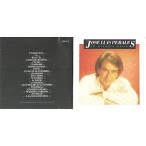 José Luis Perales - 20 Grandes Éxitos - Emi - C D