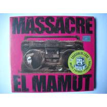 Massacre El Mamut Deluxe Cd Sellado.